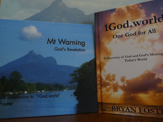 'Mt Warning: God's Revelation' the companion photobook to '1God.world: One God for All' has