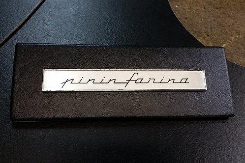 Ferrari 330 GTC & GTS Radio Delete Plate