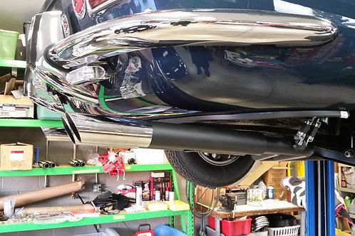 Ferrari GTC Lower rear body Pinch welt trim with clips