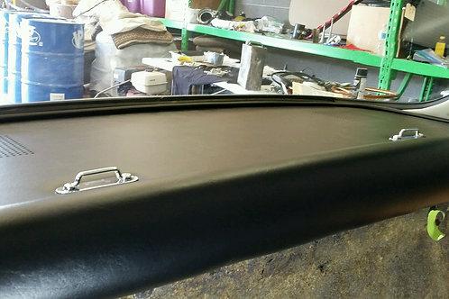 330 GTC rear package tray vinyl - correct grain
