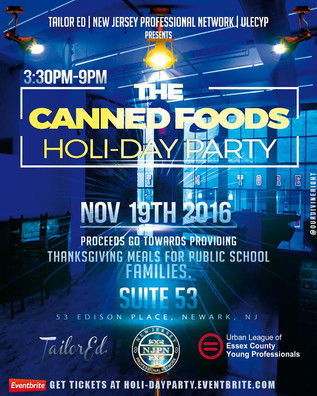 Canned Foods HoliDayParty
