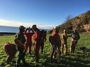 Behind the scenes of the BBC Cavers shoot on location in Weymss Cave Fife