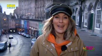 Die Beste Klasse shoot on location in Edinburgh for The Helpful Scot
