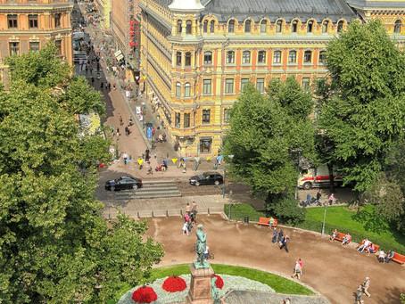 Helsinki leads the world in work-life balance