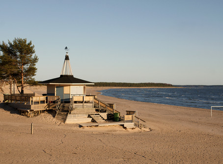 Explore the beaches outside Helsinki