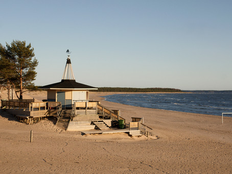 Explore the beaches outside Helsinki