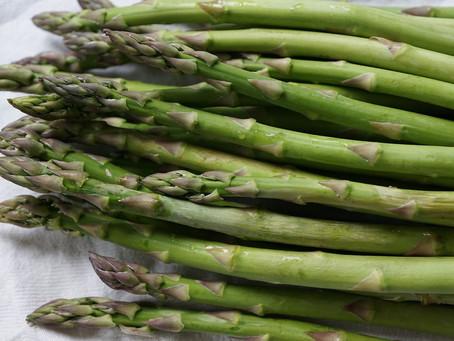 Spring recipes with asparagus