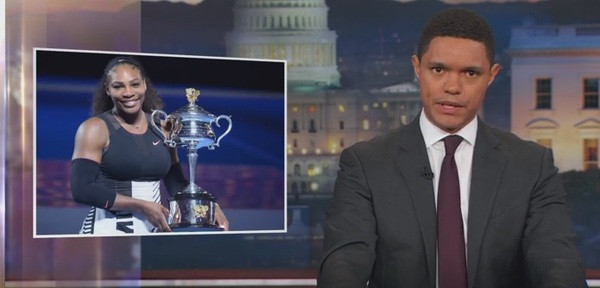 Trevor Noah on The Daily Show