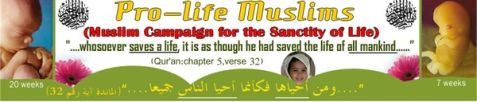 Pro-Life Muslims