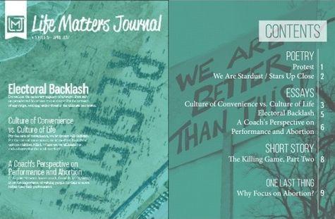 Life Matters Journal, Vol. 5, No. 5