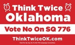 Oklahoma - Vote No on State Question 776