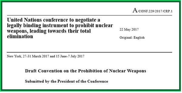 Draft Convention on the Prohibition of Nuclear Weapons
