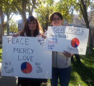 Call to Action march, Albuquerque, NM