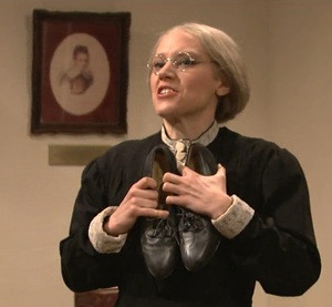 Kate McKinnon as Susan B. Anthony
