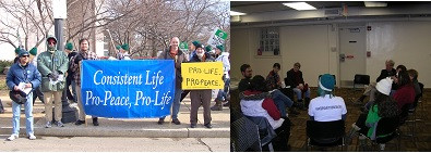 Photos-past March for Life & post-March gathering