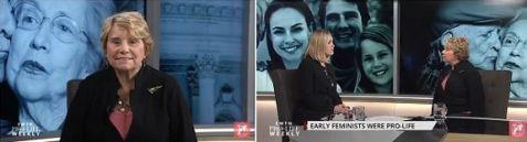 Carol Crossed on EWTN's Prolife Weekly