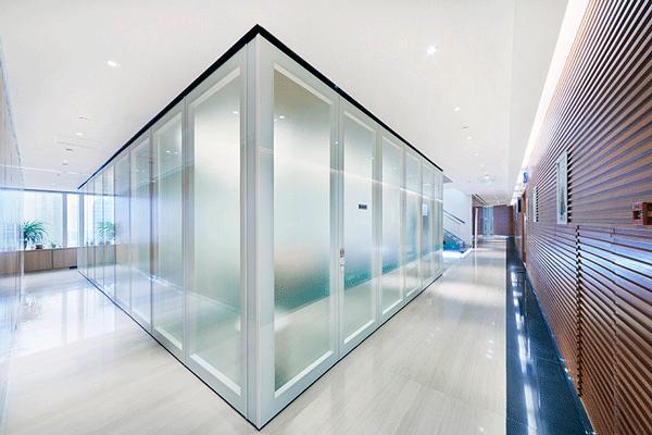 辦公室 玻璃活動隔音屏風