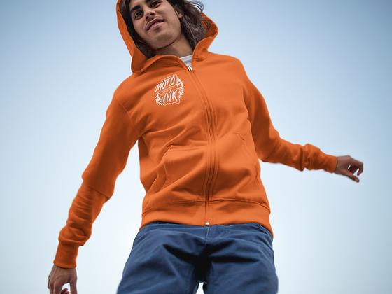 Youth Zip-Up Pocket Style Sprocket Hoodie