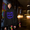 Thumbnail: Youth Center Style Number Plate Logo Pullover Hoodie
