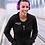 Thumbnail: Womens Zip-Up Pocket Style Moto & Ink Racing Logo Hoodie