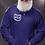 Thumbnail: Mens Zip-Up Pocket Style Number Plate Logo Hoodie