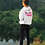 Thumbnail: Womens Center Style Number Plate Logo Pullover Hoodie