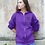 Thumbnail: Womens Zip-Up Pocket Sprocket Logo Style Hoodie