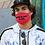 Thumbnail: Unisex- Adult Size Moto & Ink Racing  Logo Face Mask