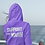 Thumbnail: Youth Center Style Stamp Logo Pullover Hoodie