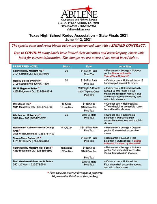 THSRA Preferred Hotel Rate Sheet 2021 co