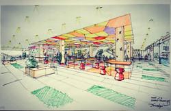 Dongguan Shopping Center Food Court