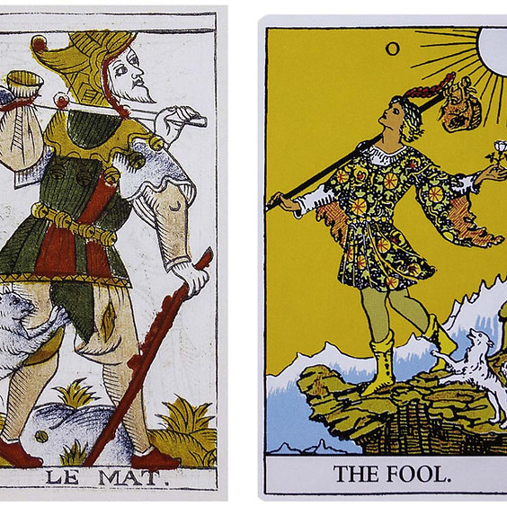 The Fool's Journey of the Tarot