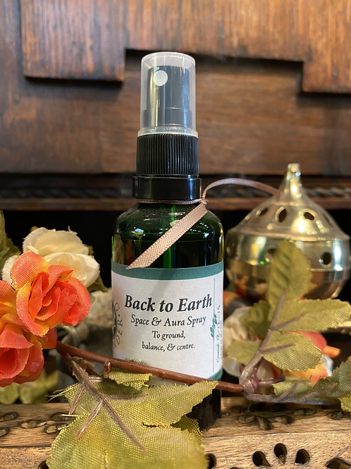 'Back to Earth' Space and Aura Spray