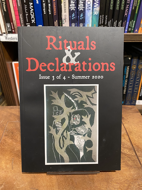 Rituals and Declarations Zine - Three