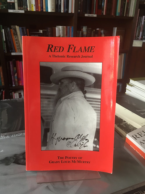 Red Flame. Poetry of Grady McMurtry