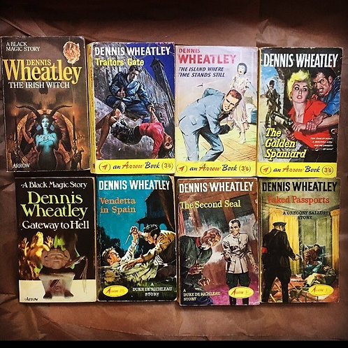 Dennis Wheatley Pulp Set