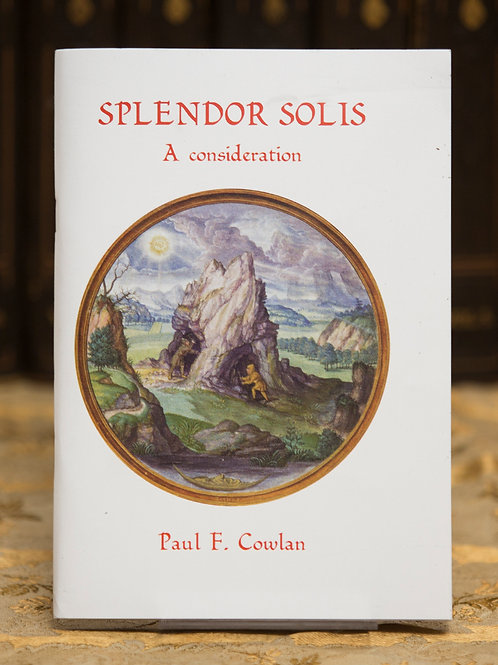 Splendor Solis- Paul Cowlan (signed)