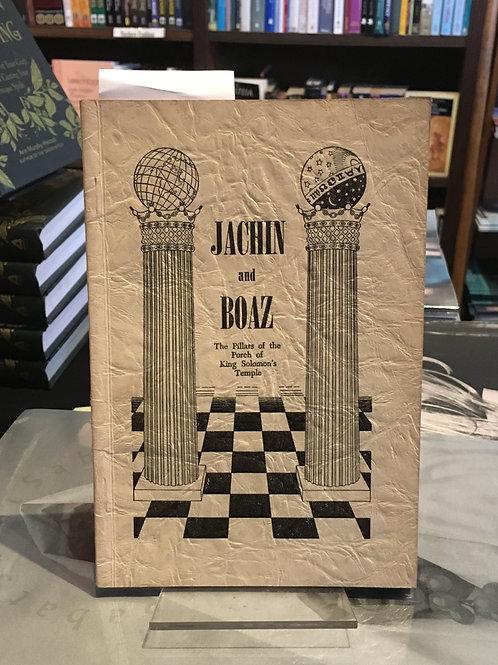 Jachin and Boaz - Jewel P. Lightfoot [Freemasonry]