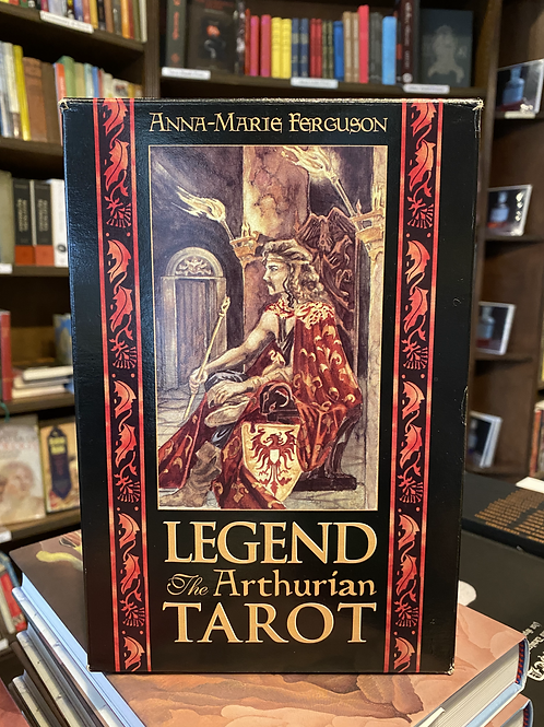 Legend: The Arthurian Tarot - Anna-Marie Ferguson, 1995 First Edition boxed set