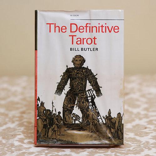 The Definitive Tarot - Bill Butler (1st ed.)