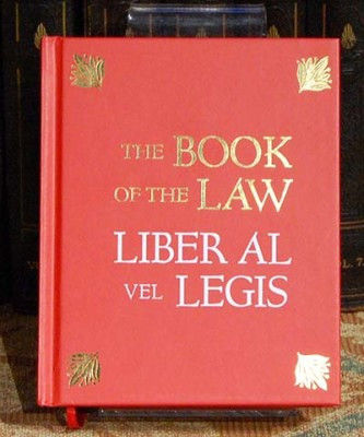 Of aleister crowley law book the