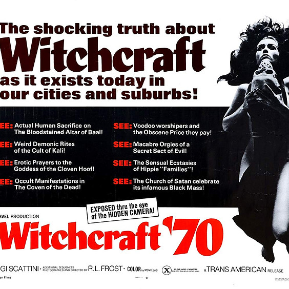 Wicca on Film: the Early Seventies