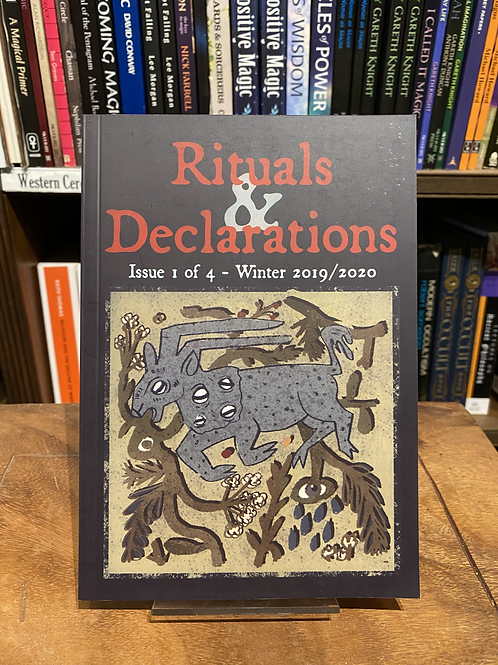 Rituals and Declarations Zine - One