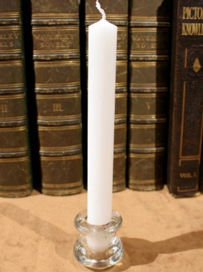 Spell Candle – White (Moon)