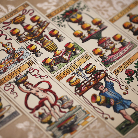 Tarot Spreads, 4 week course