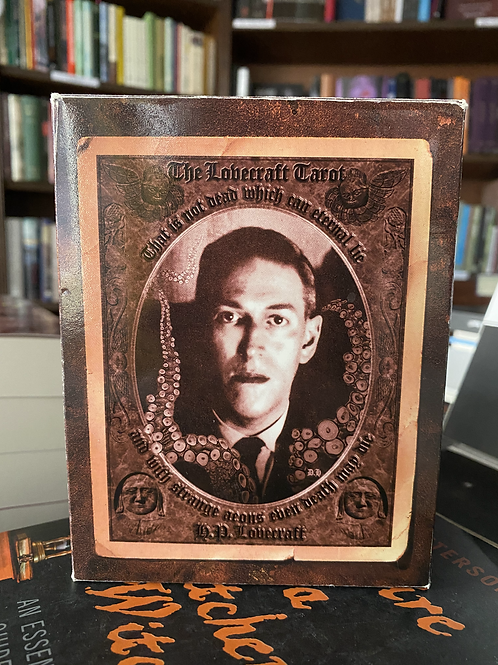 The H.P. Lovecraft Tarot - Mythos Books, 2002 Revised Second Edition