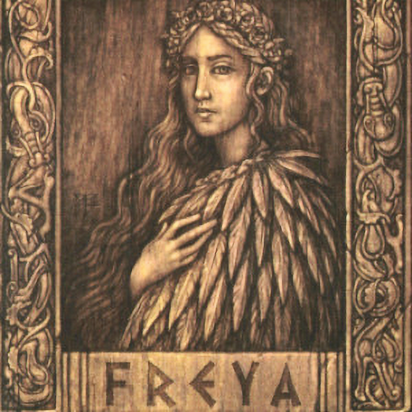 Talk and Heathen Rite for Frey and Freya
