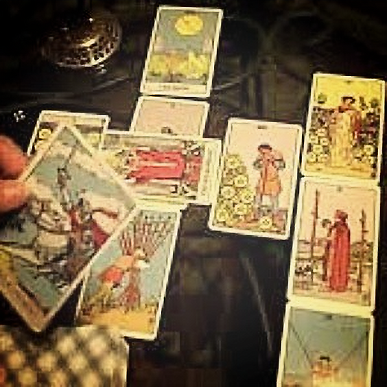 SOLD OUT. Tarot for Absolute Beginners