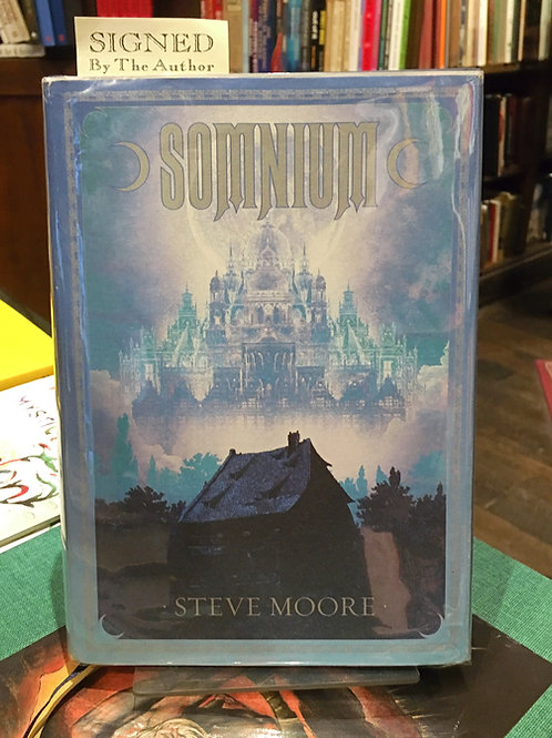 Somnium - Steve Moore (First edn, signed) [ Alan Moore]