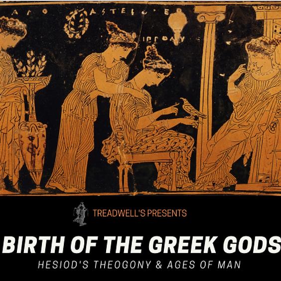 'Birth of the Greek Gods' II -  Four-week Course